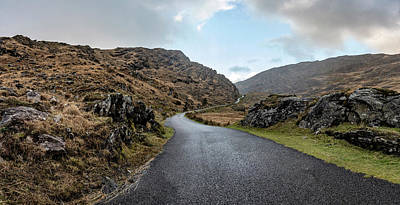 Photograph - The Irish Road To The Pass  by John McGraw