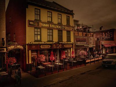 Photograph - The Irish Village by Juan Contreras