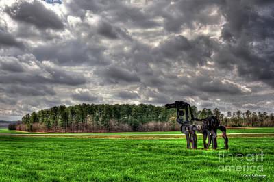 Photograph - The Iron Horse Rainy Day Winter Wheat Art by Reid Callaway