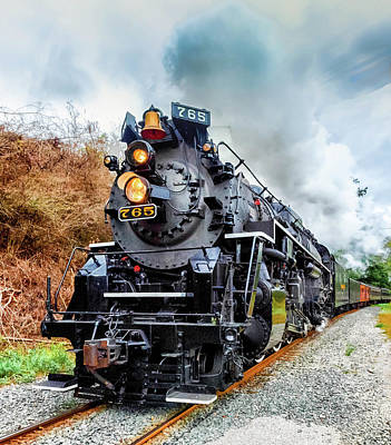 Photograph - The Iron Horse  by Richard Kopchock
