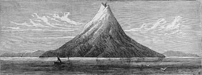 The Island Of Krakatoa Art Print by Kean Collection