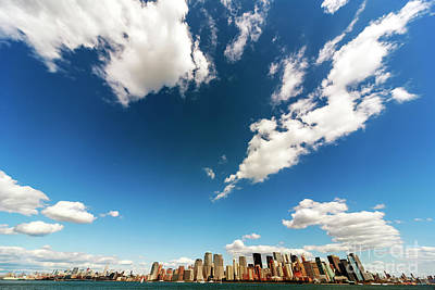 Photograph - The Island Of Manhattan by John Rizzuto