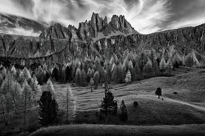 Photograph - The Italian Alps by Jon Glaser