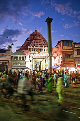 India Photograph - The Jagannath Temple At Puri- Orissa by Images From India