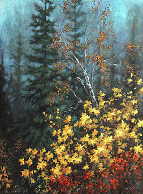 Painting - The Jewels Of Autumn by Lucy West