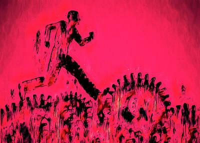 Painting - The Job by Bob Orsillo