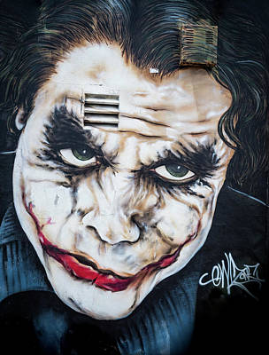 Photograph - The Joker by Robin Zygelman