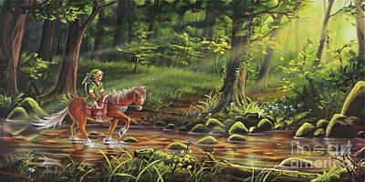 Painting - The Journey Begins by Joe Mandrick