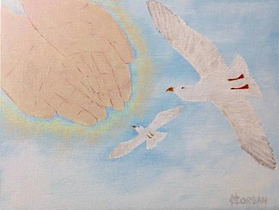 Cynthia Morgan Wall Art - Painting - The Journey by Cynthia Morgan