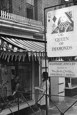 Photograph - The Kanovitzs At Queen Of Diamonds by Fred W. Mcdarrah