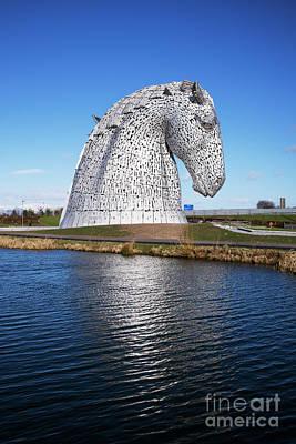 Photograph - The Kelpies Falkirk Scotland by Tim Gainey