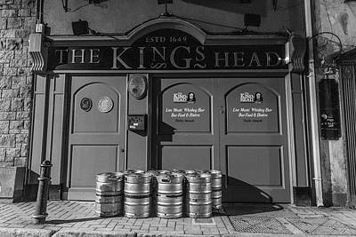Photograph - The Kings Head Galway Ireland  by John McGraw