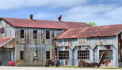 Photograph - The Kirkpatrick Cotton Gin by JC Findley