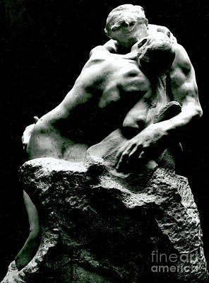 Sculpture - The Kiss, 1886 by Rodin