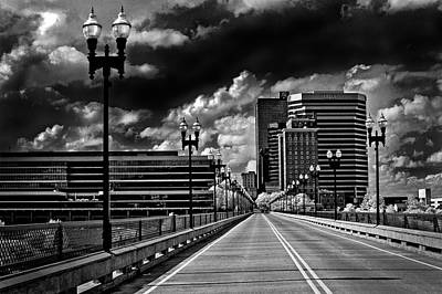 Photograph - The Knoxville Gay Street Bridge by Paul W Faust - Impressions of Light