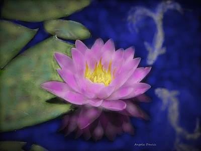 Painting - The Koi Pond by Angela Davies