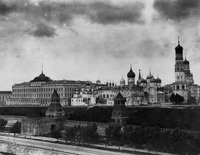 The Kremlin Art Print by Topical Press Agency