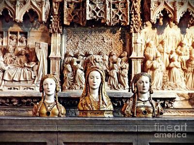 Western Art - The Ladies on the Altar by Sarah Loft