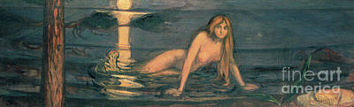 Painting - The Lady From The Sea, 1896 by Edvard Munch