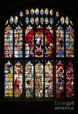 Photograph - The Last Judgment Window by Tim Gainey