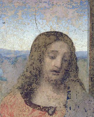Painting - The Last Supper, 1495-97  Post Restoration by Leonardo Da Vinci