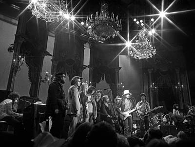 Neil Young Wall Art - Photograph - The Last Waltz Concert by Michael Ochs Archives