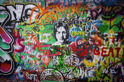Photograph - The Lennon Wall by Mark Duehmig