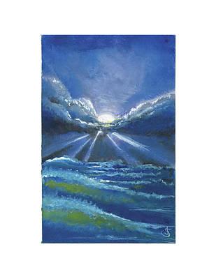 Painting - The Light Breaks Through by Jeremiah Skurtu