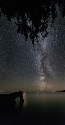 Gichigami Photograph - The Lion And The Light Of Mars Vertical Panorama by Jakub Sisak