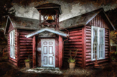 Photograph - The Little Log Church By The Sea by Thom Zehrfeld