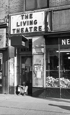 The Living Theatre, Closed Art Print by Fred W. McDarrah