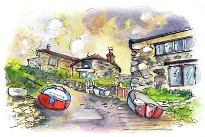 Painting - The Lizard Peninsula 02 by Miki De Goodaboom