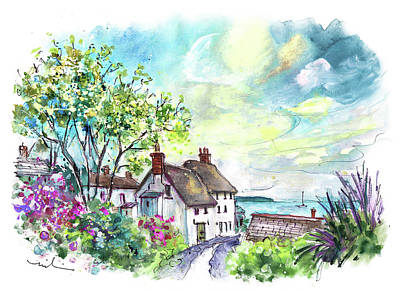 Painting - The Lizard Peninsula 04 by Miki De Goodaboom