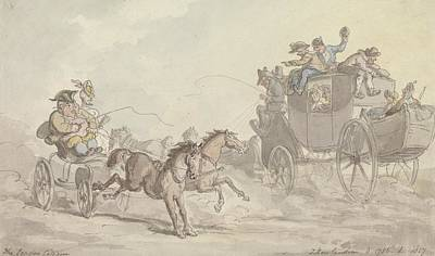 Drawing - The London Citizen by Thomas Rowlandson