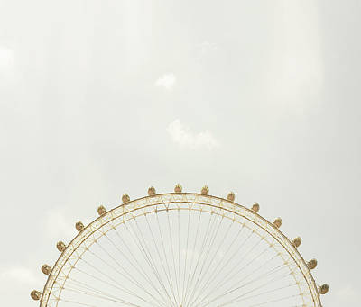 Photograph - The London Eye by Tim Robberts