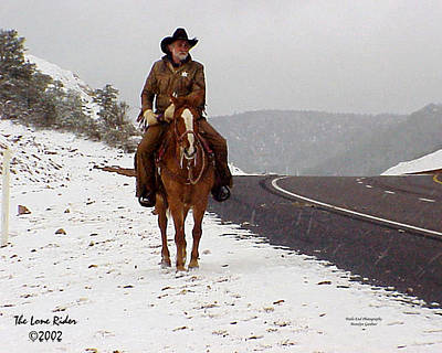 Photograph - The Lone Ranger by Matalyn Gardner