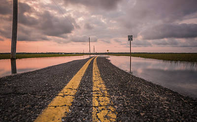 Photograph - The Long Road Ahead by Kristopher Schoenleber