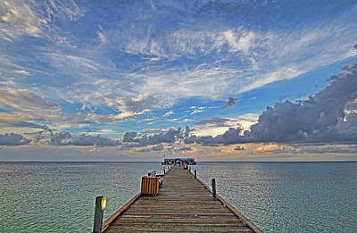 Photograph - The Long Walk by HH Photography of Florida
