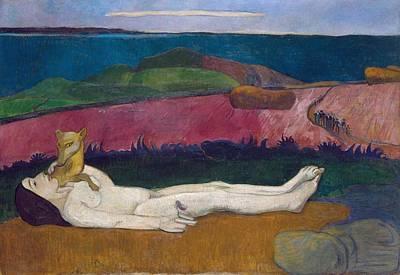 Katharine Hepburn - The Loss of Virginity 1890 91 by Paul Gauguin