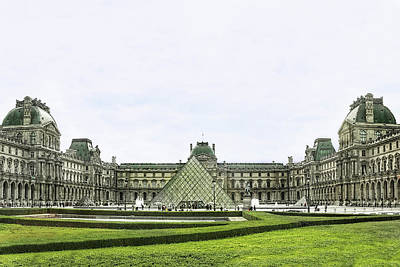 Photograph - The Louvre, Paris by Kay Brewer