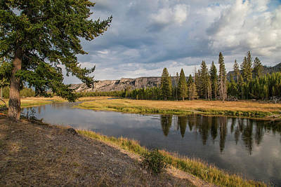 Photograph - The Madison River At West Yellowstone by Lon Dittrick