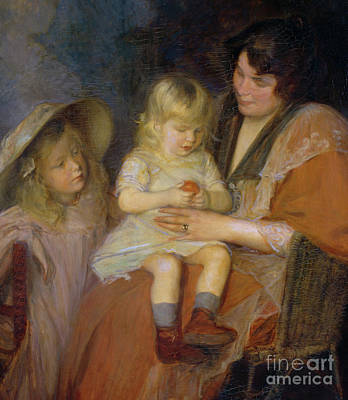 Painting - The Mandarin Or, Madame Thawlow And Her Children by Jacques-Emile Blanche