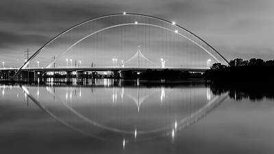 Photograph - The Margaret Mcdermott Bridge by Robert Bellomy