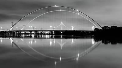 Robert Bellomy Royalty-Free and Rights-Managed Images - The Margaret McDermott Bridge by Robert Bellomy
