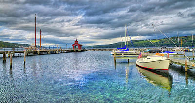 Photograph - The Marina At Seneca Lake - Finger Lakes, New York by Lynn Bauer