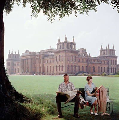 Sitting Photograph - The Marlboroughs by Slim Aarons