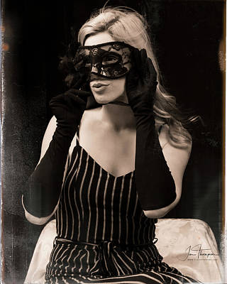 Photograph - The Mask by Jim Thompson