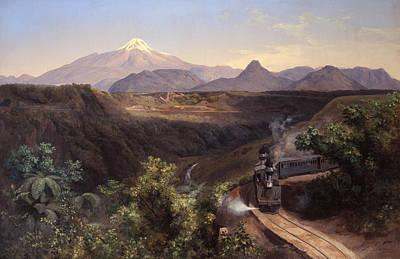 Painting - The Metlac Ravine by Jose Maria Velasco Gomez
