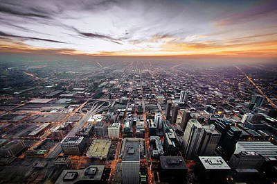 Ken Ilio Photograph - The Metropolis Looking West by By Ken Ilio