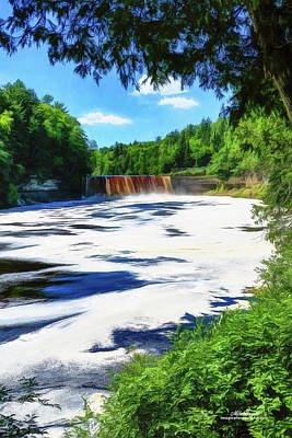 The Mighty Tahquamenon Art Print